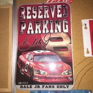 Reserved Parking Dale Jr. fans only